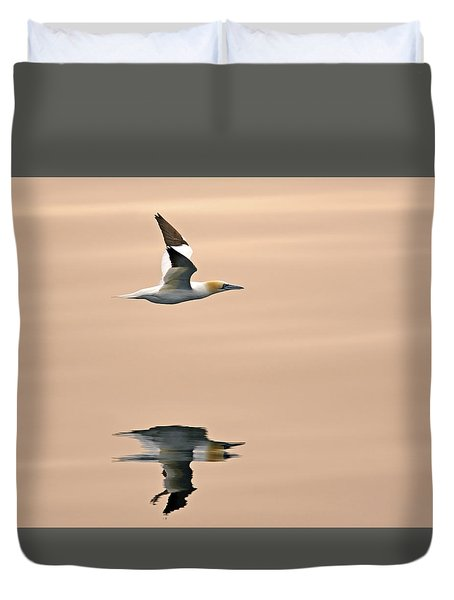 Late Arrival Duvet Cover by Tony Beck