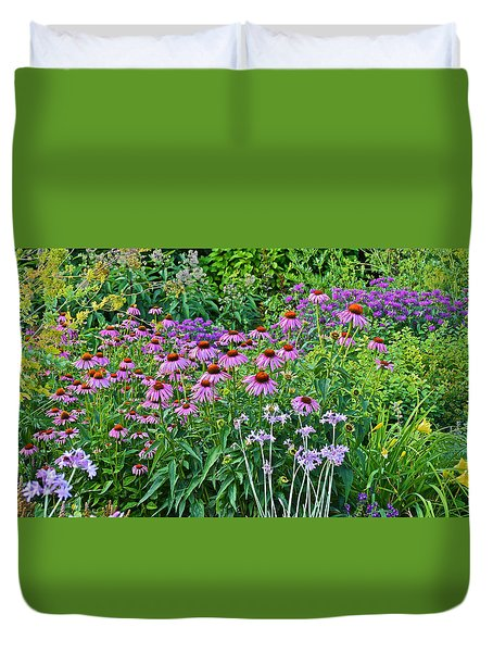 Late July Garden 2 Duvet Cover