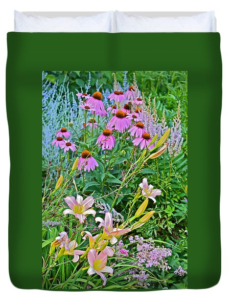 Late July Garden 3 Duvet Cover