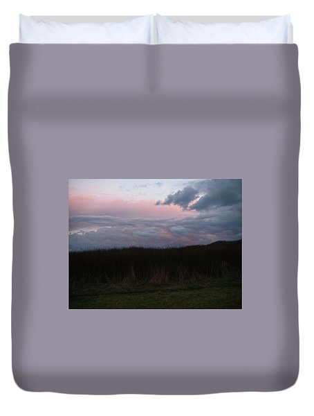 Late Light Duvet Cover by Laurie Stewart