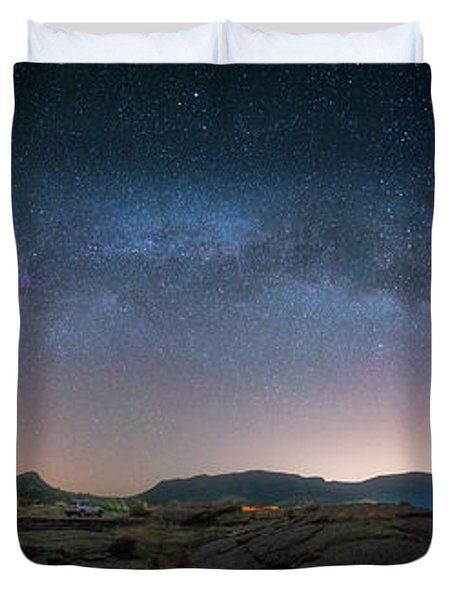 Late Night Milky Show Duvet Cover