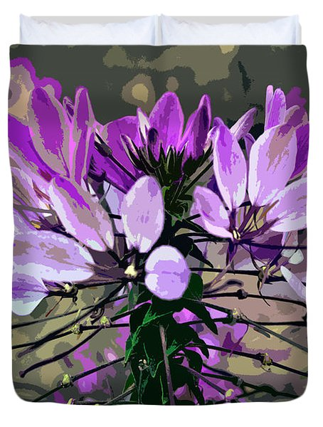 Late Summer Impression Duvet Cover