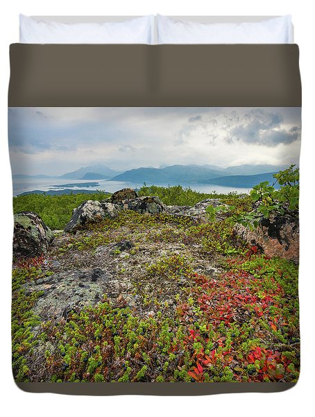 Late Summer In The North Duvet Cover by Maciej Markiewicz