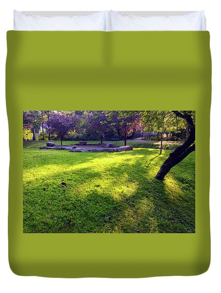 Late Summer Light Duvet Cover