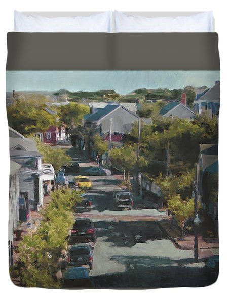 Late Summer Nantucket Duvet Cover