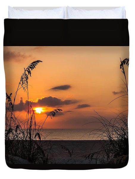 Late Sunrise 3 Duvet Cover