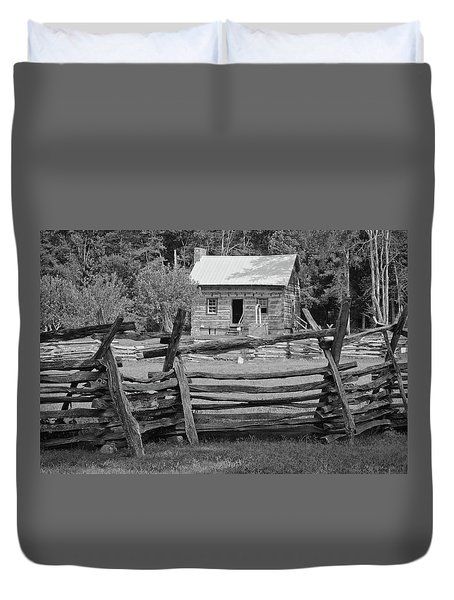 Latta Plantation Cabin Duvet Cover