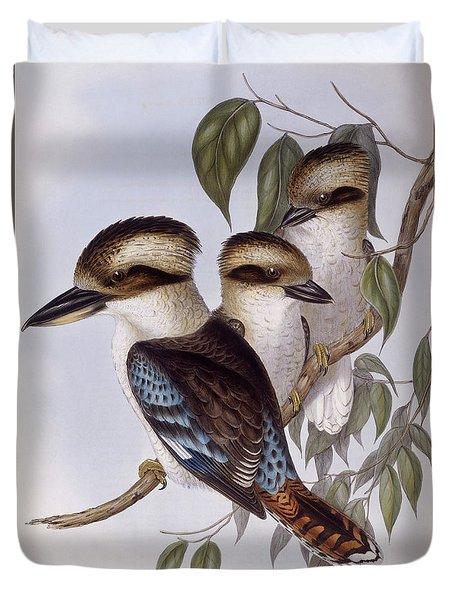 Laughing Kookaburra Duvet Cover