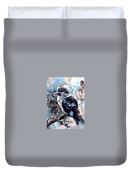Laughing Kookaburra Duvet Cover