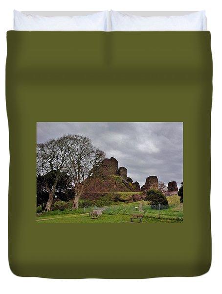 Launceston Castle Duvet Cover