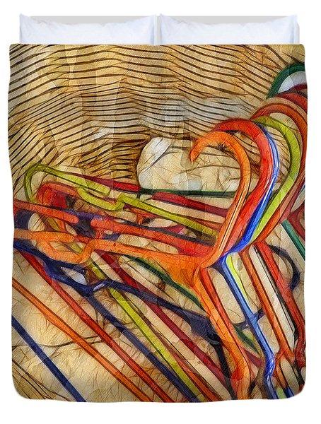Laundry Basket Duvet Cover