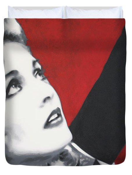 Laura Palmer Duvet Cover by Ludzska