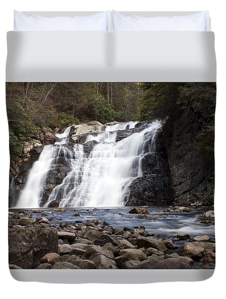 Laurel Falls In Spring #1 Duvet Cover