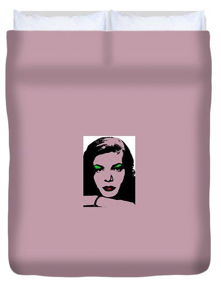 Lauren Bacall Duvet Cover