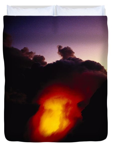 Lava At Dawn Duvet Cover by Ron Dahlquist - Printscapes