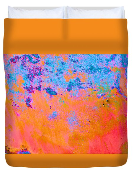Lava Explosion Duvet Cover by Jan Amiss Photography