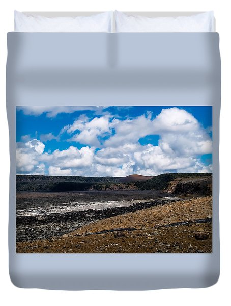 Lava Field Duvet Cover
