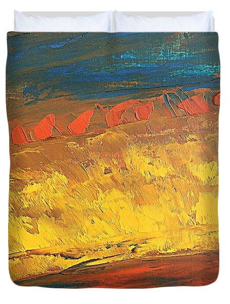 Lava Flow Duvet Cover