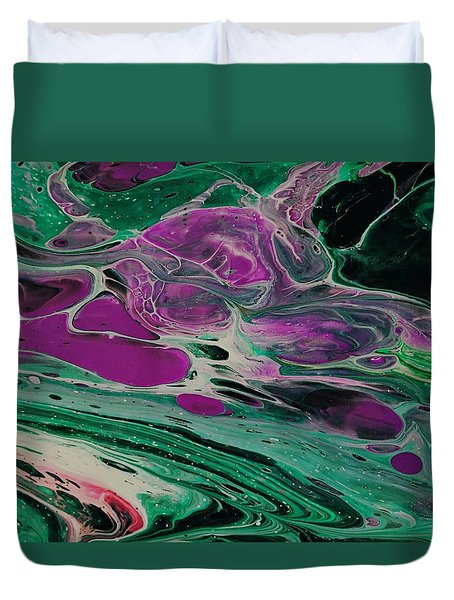 Lava From Venus Duvet Cover
