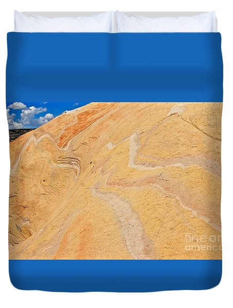 Lava Look Duvet Cover