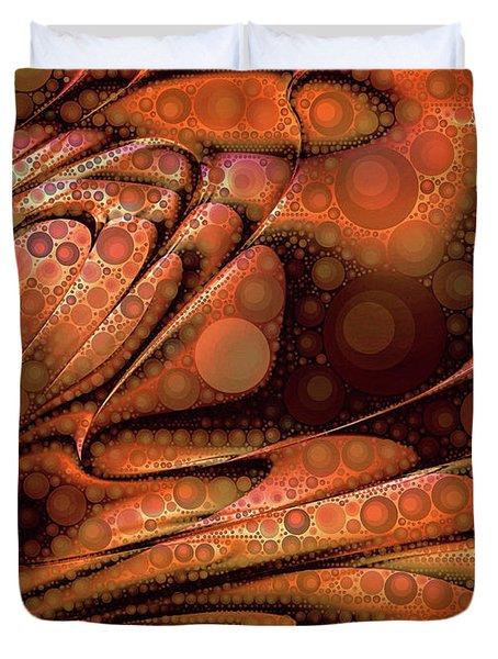 Lava Pop Duvet Cover