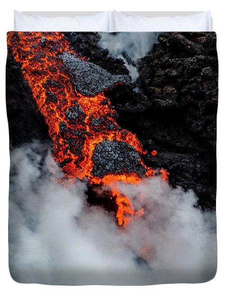 Lava Train Duvet Cover