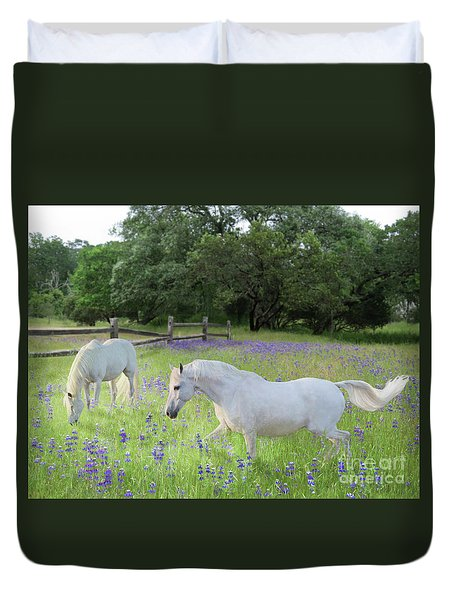 Lavender Pastures Duvet Cover