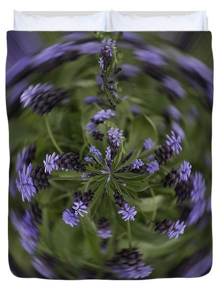 Lavender Blue Duvet Cover