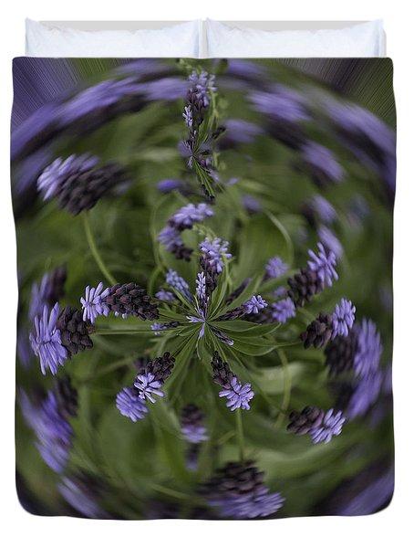 Lavender Blue Duvet Cover