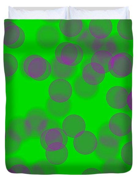 Lavender Bokeh Duvet Cover