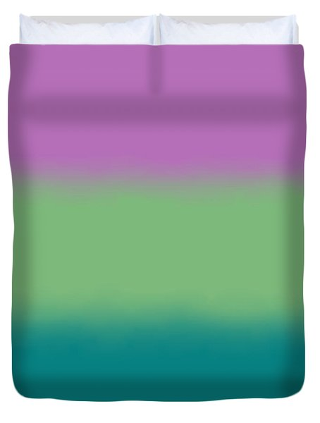 Lavender - Sq Block Duvet Cover