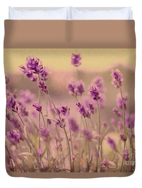 Lavender Dreaming ... Duvet Cover