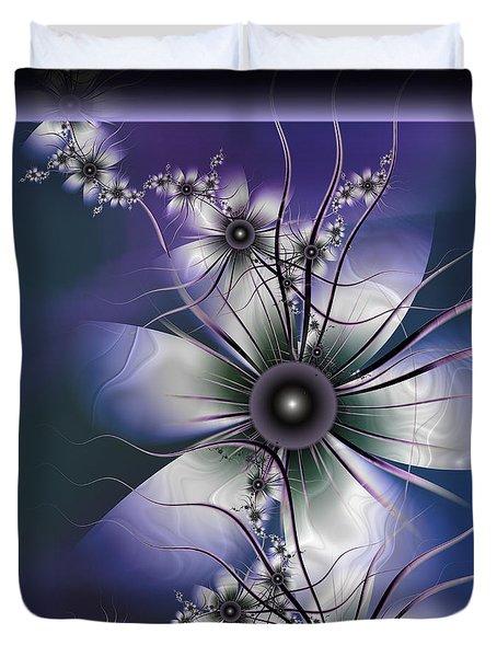 Lavender Glow Duvet Cover