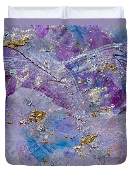 Lavender Haze Duvet Cover by Don  Wright