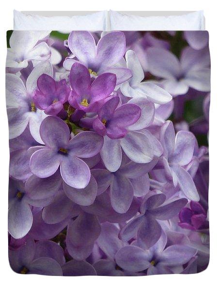 Lavender Lilacs Duvet Cover