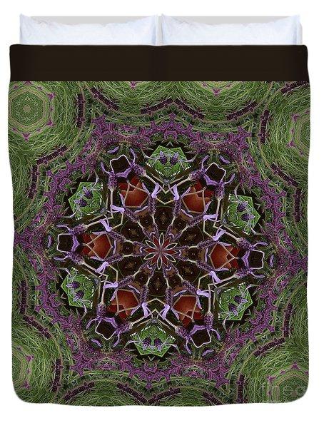Lavender Mandala 2 Duvet Cover