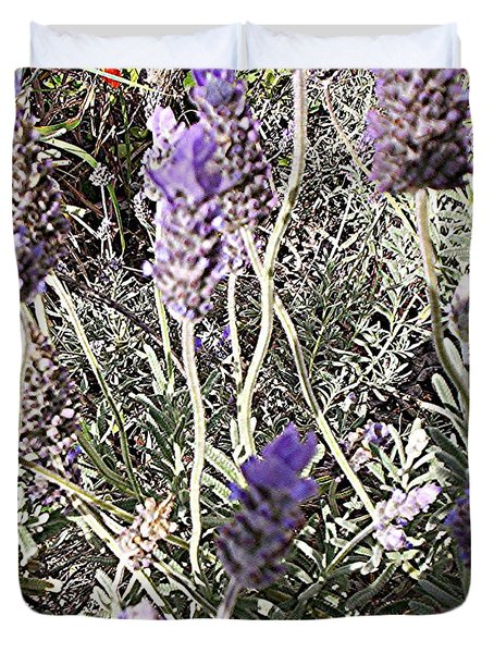 Lavender Moment Duvet Cover
