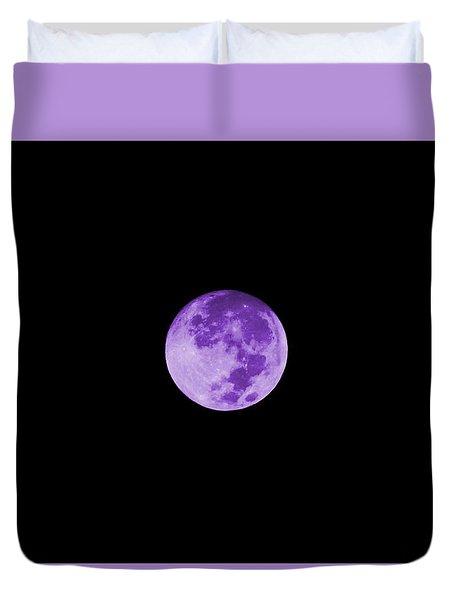 Lavender Moon Duvet Cover