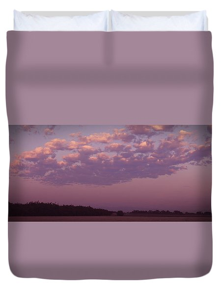 Lavender Morning Duvet Cover