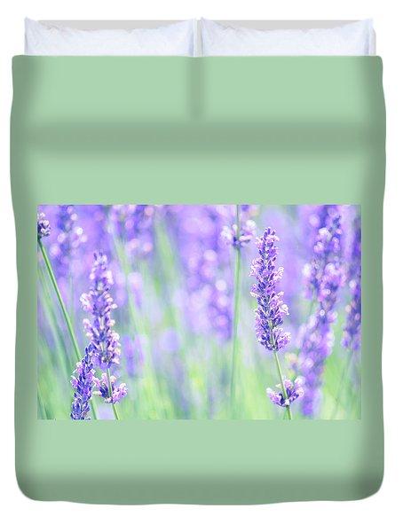 Lavender Duvet Cover by Rima Biswas