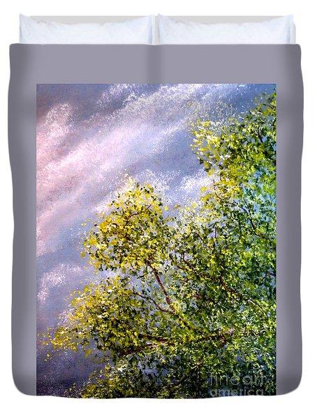 Lavender Skies Duvet Cover
