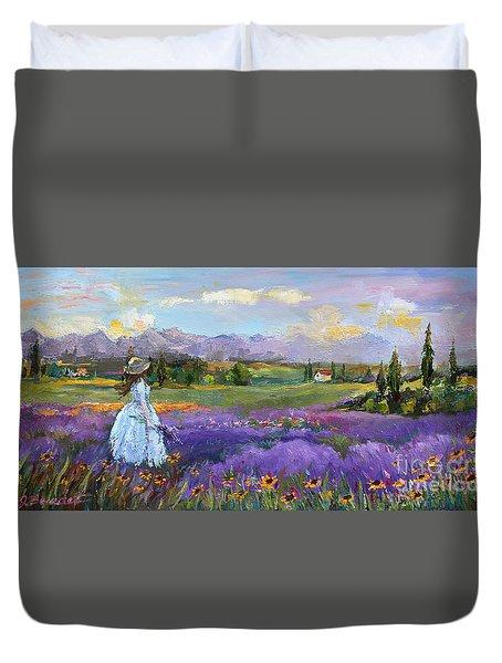 Lavender Splendor  Duvet Cover
