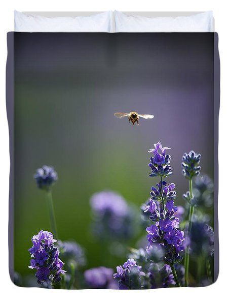 Lavender User Duvet Cover