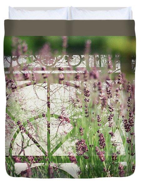 Lavender Whisper Duvet Cover