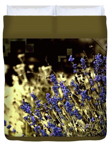 Lavender Yellow Duvet Cover