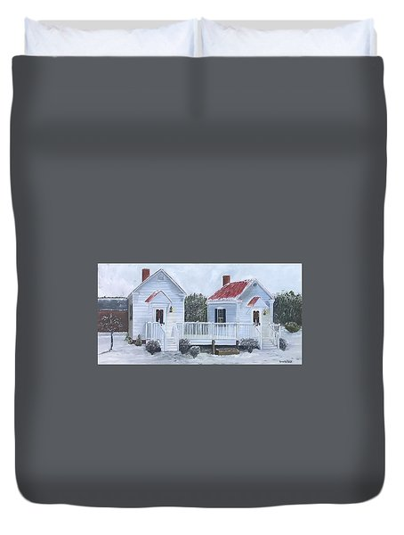 Law Offices Duvet Cover