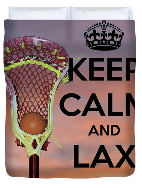 Lax On Duvet Cover