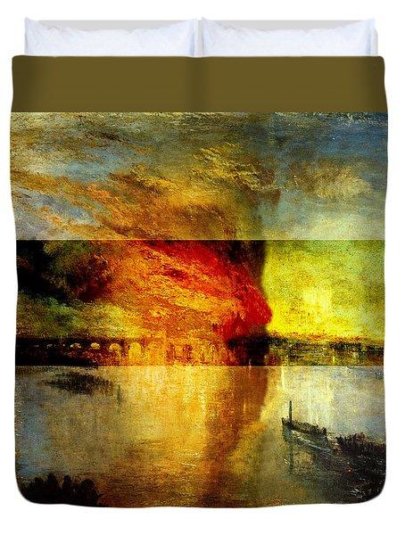 Layered 12 Turner Duvet Cover by David Bridburg