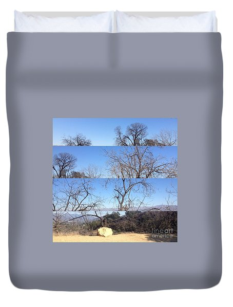 Layered Perspectives Duvet Cover
