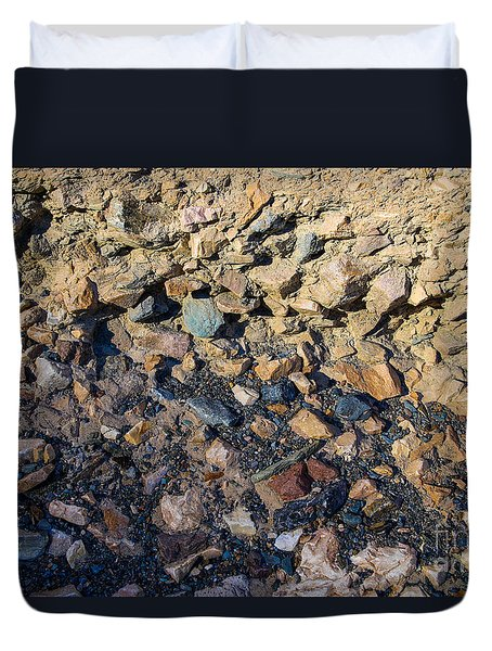 Layered Rock Duvet Cover